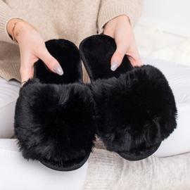 Bona Zapatillas negras con estilo negro 4