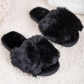 Bona Zapatillas negras con estilo negro 1