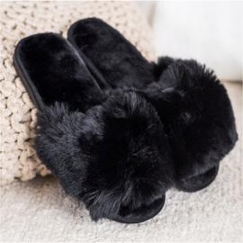 Bona Zapatillas negras con estilo negro 2
