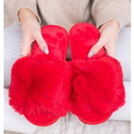 Bona Zapatillas rojas con estilo rojo 3