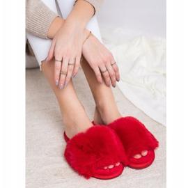 Bona Zapatillas rojas con estilo rojo 4