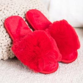 Bona Zapatillas rojas con estilo rojo 1