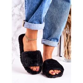 FRJ Zapatillas Mujer Piel Negra Cold Days negro 2