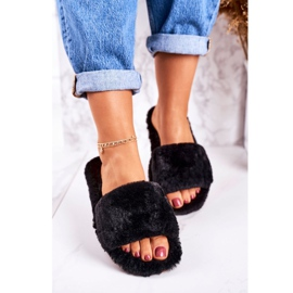 FRJ Zapatillas Mujer Piel Negra Cold Days negro 1