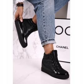 Haver Zapatillas de Mujer Botines Negro Carol 2