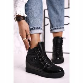 Haver Zapatillas de Mujer Botines Negro Carol 1
