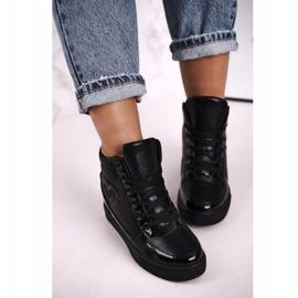 Haver Zapatillas de Mujer Botines Negro Carol 3