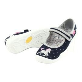 Calzado infantil befado 114X414 marina gris 4