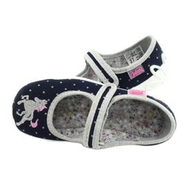 Calzado infantil befado 114X414 marina gris 5