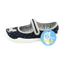 Calzado infantil befado 114X414 marina gris 6