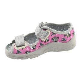 Calzado infantil befado 969X162 rosa plata 2