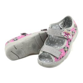 Calzado infantil befado 969X162 rosa plata 4