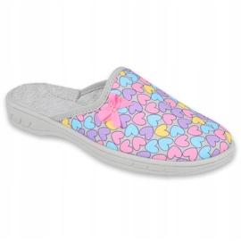 Zapato infantil color befado 707Y410 plata multicolor 1