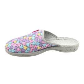 Zapato infantil color befado 707Y410 plata multicolor 2