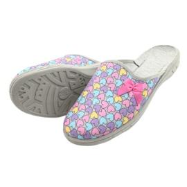 Zapato infantil color befado 707Y410 plata multicolor 4