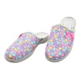 Zapato infantil color befado 707Y410 plata multicolor 3