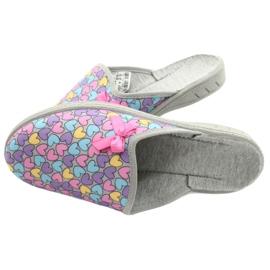 Zapato infantil color befado 707Y410 plata multicolor 5