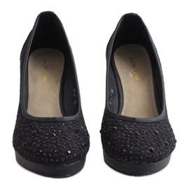 Zapatos negros con cuña M-27 5