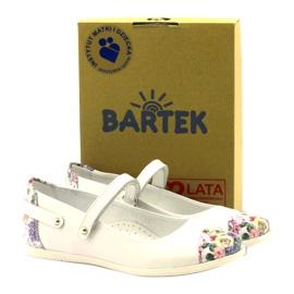 Bailarinas chicas flores bartek blanco 4