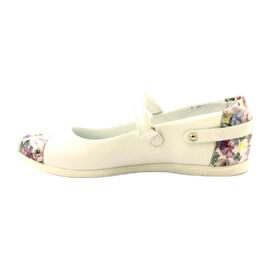 Bailarinas chicas flores bartek blanco 2