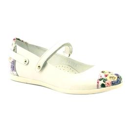 Bailarinas chicas flores bartek blanco 1