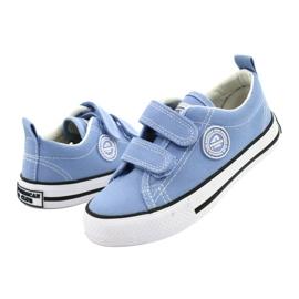 Zapatillas azul americano American Club LH64 / 21 3