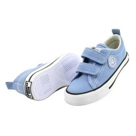 Zapatillas azul americano American Club LH64 / 21 2