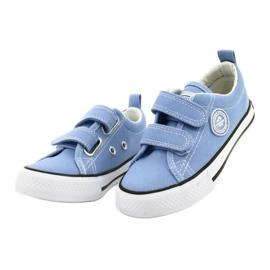 Zapatillas azul americano American Club LH64 / 21 1