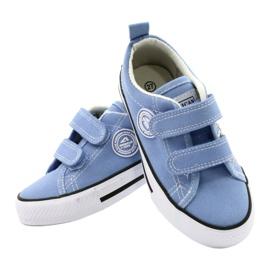 Zapatillas azul americano American Club LH64 / 21 4