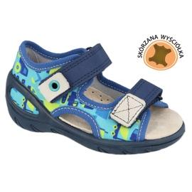 Calzado infantil befado pu 065X156 azul marino azul verde 1