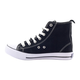 American Club High Sneakers LH02 negro 2
