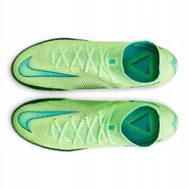 Calzado de fútbol Nike Phantom Gt Elite Dynamic Fit Fg M CW6589 303 multicolor verde 4