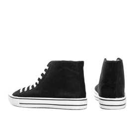 Zapatillas de hombre negras Gin tobillo negro 2