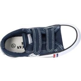 American Club Zapatos deportivos Grenade American LH35 / 21 con velcro marina 1