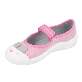 Calzado infantil befado 208X045 rosado 2