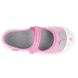 Calzado infantil befado 208X045 rosado 4