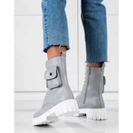 Seastar Trabajadores con bolsillo gris 4