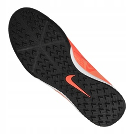 Zapatillas de fútbol Nike Phantom Vnm Academy Tf M AO0571-810 naranja 4