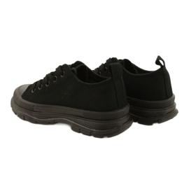 FR1 Zapatillas deportivas negras para niños Travel Time negro 4