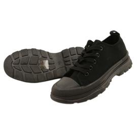 FR1 Zapatillas deportivas negras para niños Travel Time negro 3