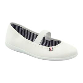 Zapatillas de mujer blancas Befado 493Q003 blanco rojo multicolor 1