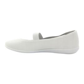Zapatillas de mujer blancas Befado 493Q003 blanco rojo multicolor 2