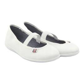 Zapatillas de mujer blancas Befado 493Q003 blanco rojo multicolor 4