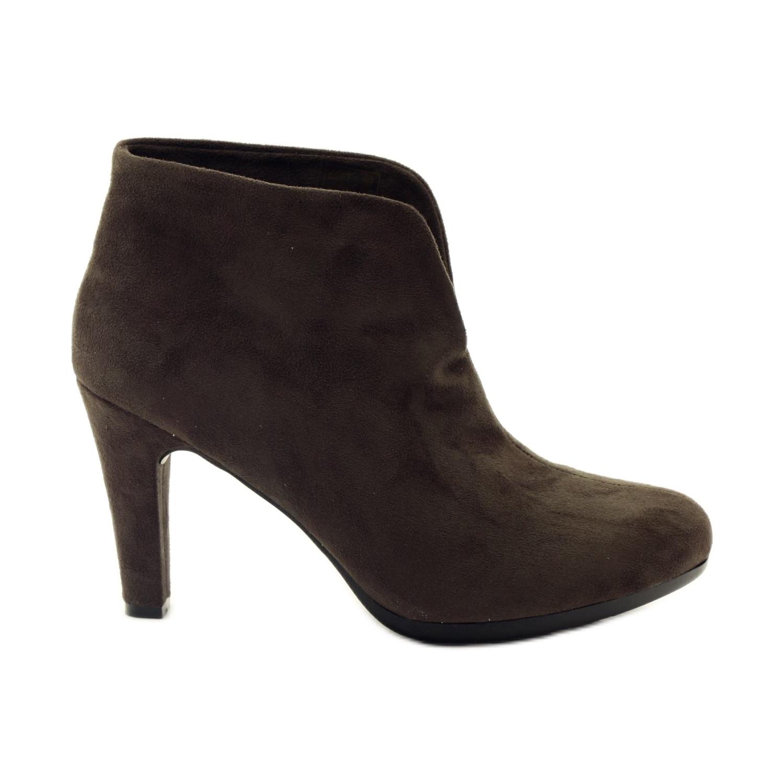 Zapatos marrones de mujer Hengst 214702