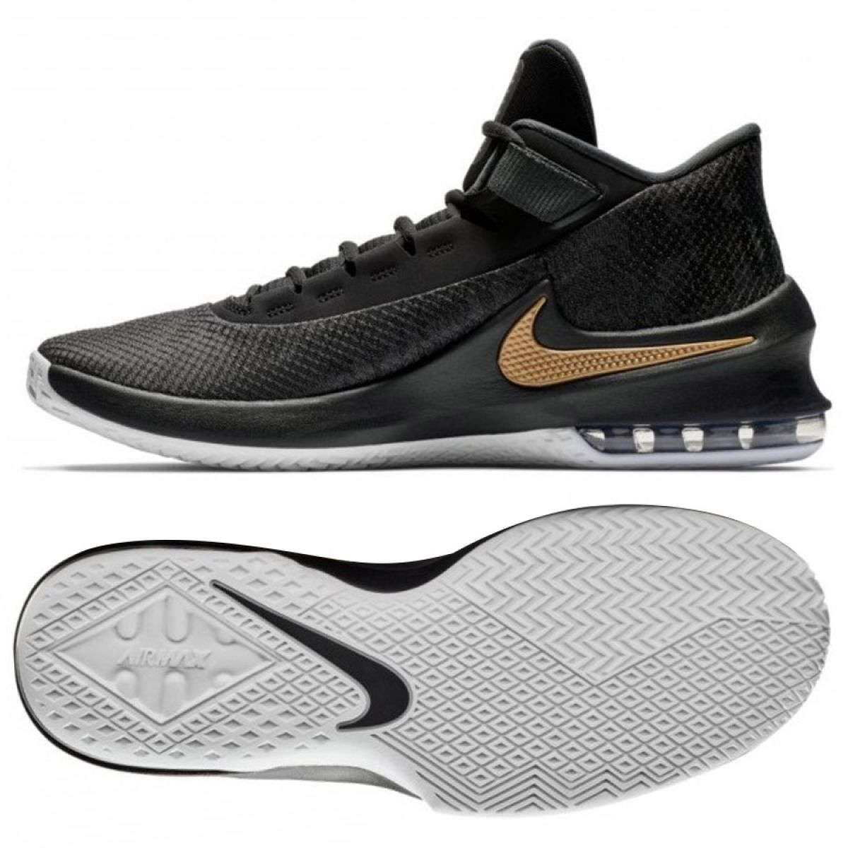 Nike Herren Aa7066 002 AIR MAX Infuriate 2 MID Basketballschuhe