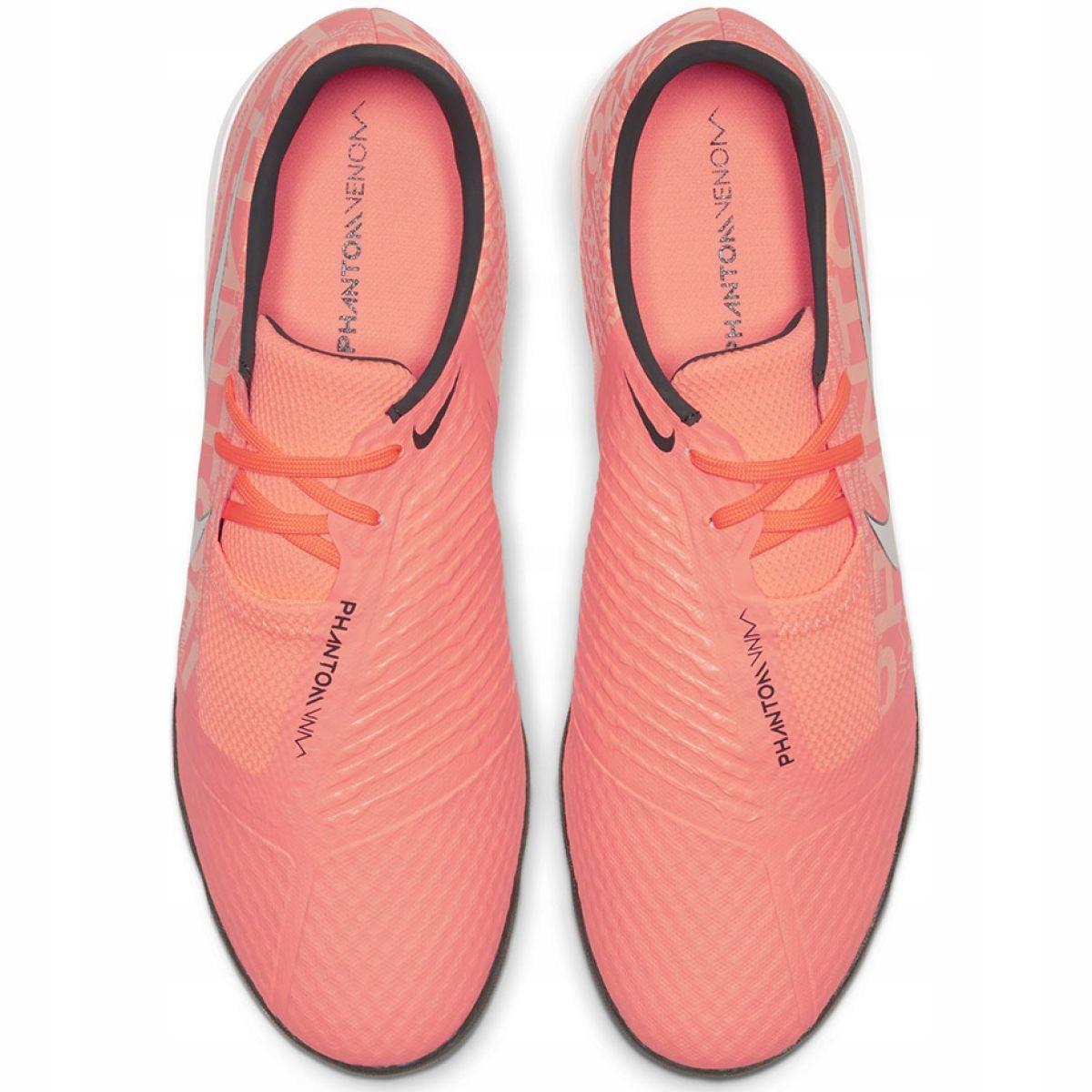 Detalles de Zapatillas de interior Nike Phantom Venom Academy Ic M AO0570 810 naranja