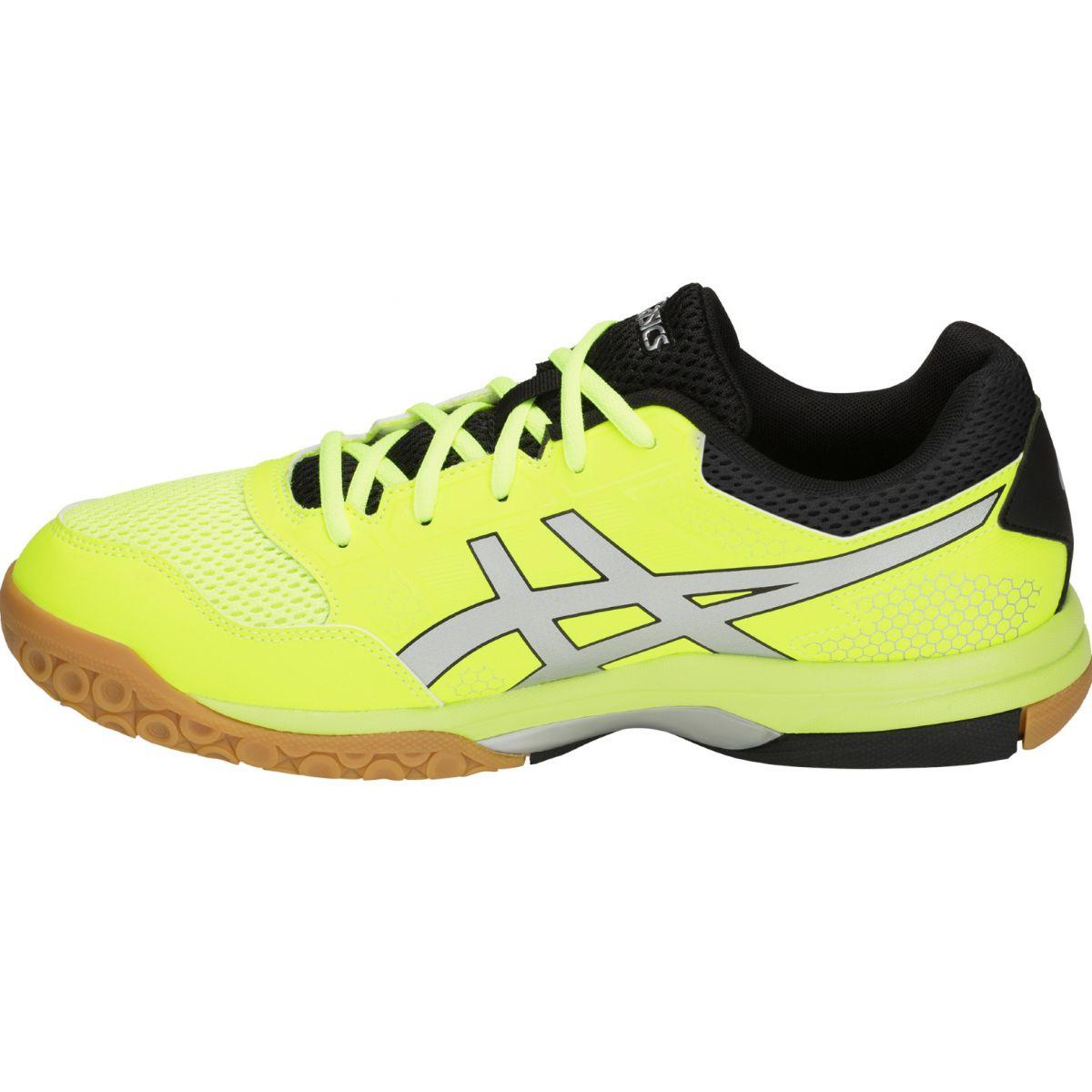 Detalles de Zapatillas de voleibol Asics Gel Rocket 8 M B706Y 750 amarillo amarillo