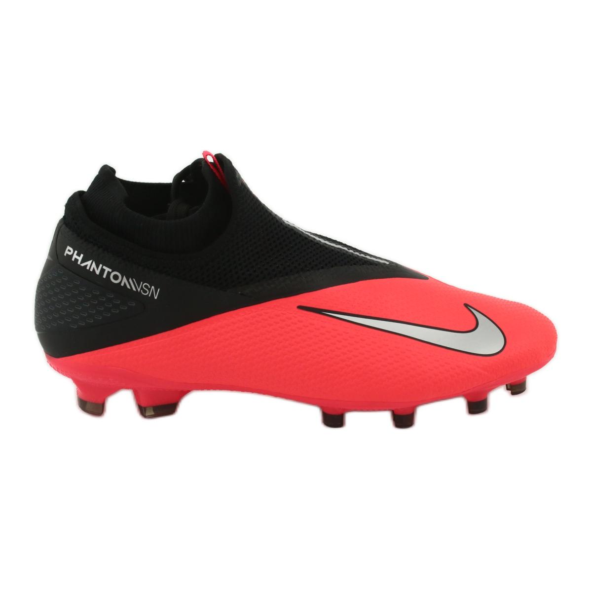 Guiño Intestinos Mal uso  Zapatillas de fútbol Nike Phantom Vsn 2 Pro Df Fg M CD4162-606 rojo | eBay